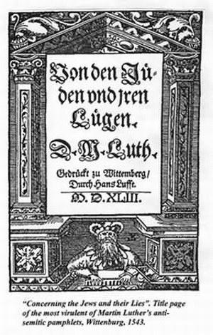 roots of anti semitism essay