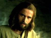 Jesus as portrayed in the  'Jesus' film.