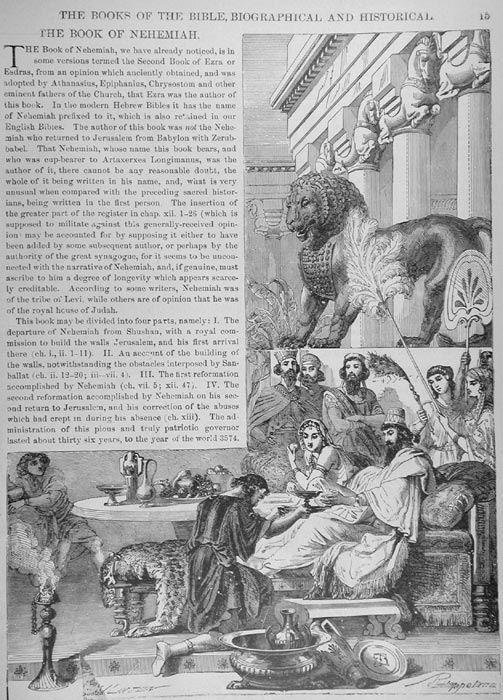 nehemiah and the seventy weeks of daniel