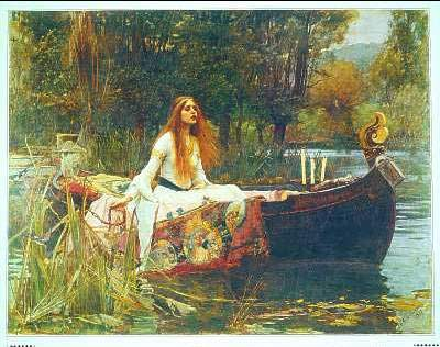 Painting by J.W. Waterhouse