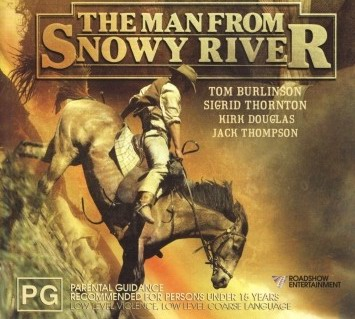Image from the movie the man from snowy river