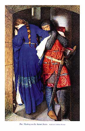 Painting by Frederic William Burton - National Gallery of Ireland