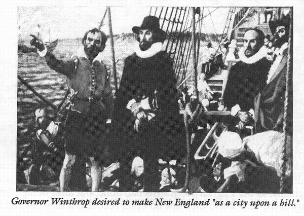 They set sail from England with a dream English Puritans 1600s